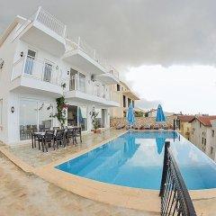 Villa Neri 1 Турция, Калкан - отзывы, цены и фото номеров - забронировать отель Villa Neri 1 онлайн бассейн фото 2