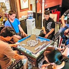 Chengdu Mix Hostel Poshpacker& Cocktail Bar спортивное сооружение
