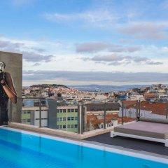 Отель Hf Fenix Music Лиссабон бассейн фото 2
