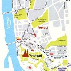 Отель Vysehrad Чехия, Прага - отзывы, цены и фото номеров - забронировать отель Vysehrad онлайн городской автобус