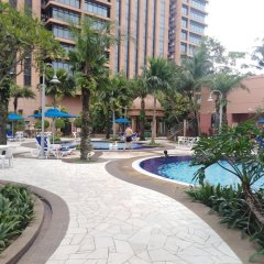 Отель Luxury Apartment at Time Square Малайзия, Куала-Лумпур - отзывы, цены и фото номеров - забронировать отель Luxury Apartment at Time Square онлайн бассейн фото 3