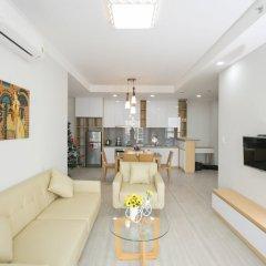 Апартаменты The Everrich Infinity Apartment комната для гостей фото 5