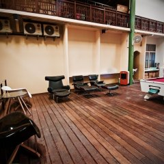 Matchanu River Hostel Bangkok фитнесс-зал