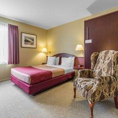 Отель Econo Lodge Montmorency Falls Канада, Буашатель - отзывы, цены и фото номеров - забронировать отель Econo Lodge Montmorency Falls онлайн комната для гостей фото 5