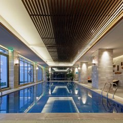 Отель Jinling Resort Tianquan Lake бассейн