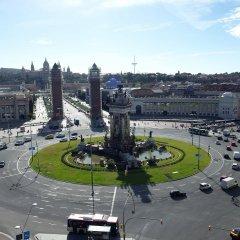 Отель Pestana Arena Barcelona парковка