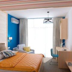Гостиница MoreLeto Ultra All Inclusive в Анапе 1 отзыв об отеле, цены и фото номеров - забронировать гостиницу MoreLeto Ultra All Inclusive онлайн Анапа комната для гостей фото 3