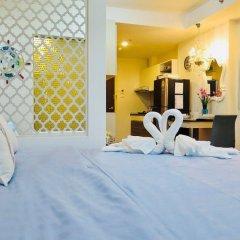 Отель Supalai Mare Pattaya Condo Sea View by Dome Паттайя комната для гостей фото 3