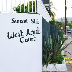 Апартаменты Sunset Strip Acadia Guest Apartment парковка