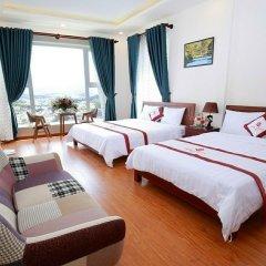 Rose Valley Hotel Далат комната для гостей