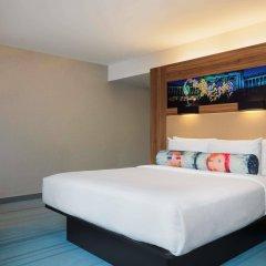 Отель Aloft Brussels Schuman Бельгия, Брюссель - 2 отзыва об отеле, цены и фото номеров - забронировать отель Aloft Brussels Schuman онлайн комната для гостей фото 4