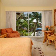 Отель Sunset Fishermen Beach Resort Плая-дель-Кармен комната для гостей фото 5