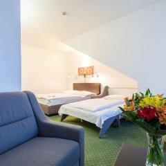 Novum Hotel Vitkov комната для гостей фото 12