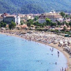 Sonnen Hotel Турция, Мармарис - отзывы, цены и фото номеров - забронировать отель Sonnen Hotel онлайн пляж фото 2