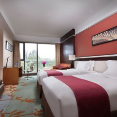 Отель Holiday Inn Beijing Shijingshan Parkview Пекин комната для гостей фото 4