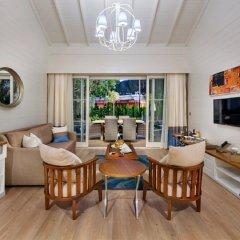 Отель Nirvana Lagoon Villas Suites & Spa комната для гостей фото 5