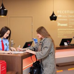 Гостиница Ибис Сибирь Омск интерьер отеля фото 3