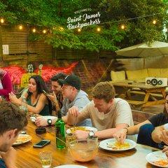 Отель Saint James Backpackers Великобритания, Лондон - отзывы, цены и фото номеров - забронировать отель Saint James Backpackers онлайн питание фото 3