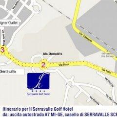 Hotel Villa La Bollina Серравалле-Скривия городской автобус
