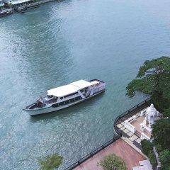 Отель Shangri-la Бангкок приотельная территория