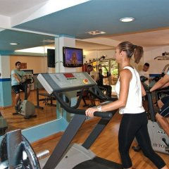 Отель Jandia Luz Морро Жабле фитнесс-зал фото 2