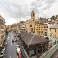 Отель Appartamento al Carmine Генуя балкон