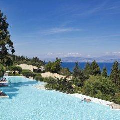Отель Aeolos Beach Resort All Inclusive Греция, Корфу - отзывы, цены и фото номеров - забронировать отель Aeolos Beach Resort All Inclusive онлайн бассейн