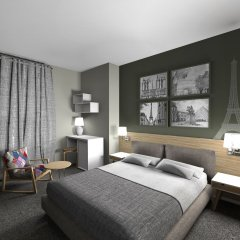 InnCity Hotel by Picnic комната для гостей фото 4