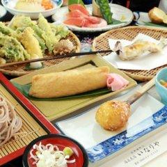 Отель Minshuku Inariya Айдзувакамацу питание
