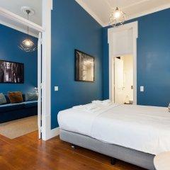 Апартаменты Baixa Vintage Three-Bedroom Apartment - by LU Holidays Лиссабон комната для гостей фото 4