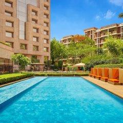 Отель ITC Maurya, a Luxury Collection Hotel, New Delhi Индия, Нью-Дели - отзывы, цены и фото номеров - забронировать отель ITC Maurya, a Luxury Collection Hotel, New Delhi онлайн бассейн фото 3