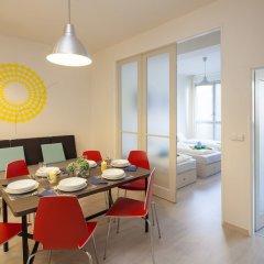 Апартаменты Premier Apartment Wenceslas Square I. Прага комната для гостей фото 2