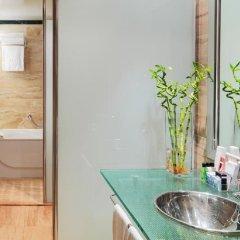 Отель H10 Marina Barcelona Испания, Барселона - 12 отзывов об отеле, цены и фото номеров - забронировать отель H10 Marina Barcelona онлайн ванная