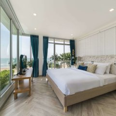 Отель X2 Hua Hin LeBayburi Pranburi Villa комната для гостей фото 5