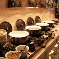 Отель Crown Park Hotel Южная Корея, Сеул - отзывы, цены и фото номеров - забронировать отель Crown Park Hotel онлайн питание фото 2