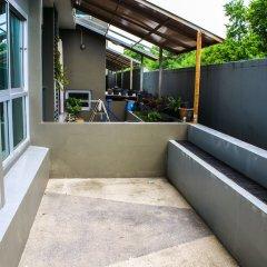 Апартаменты The Gallery Jomtien Beach Apartment Паттайя балкон