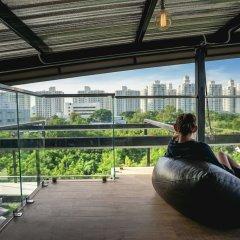 Отель Nest By Sa-ngob Бангкок фитнесс-зал фото 2