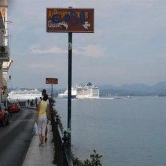 Отель Sophia Hotel Греция, Корфу - отзывы, цены и фото номеров - забронировать отель Sophia Hotel онлайн пляж фото 2