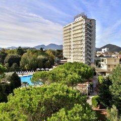 Отель Internazionale Terme Италия, Абано-Терме - отзывы, цены и фото номеров - забронировать отель Internazionale Terme онлайн балкон
