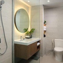Отель Vistana Kuala Lumpur Titiwangsa Малайзия, Куала-Лумпур - отзывы, цены и фото номеров - забронировать отель Vistana Kuala Lumpur Titiwangsa онлайн ванная фото 2