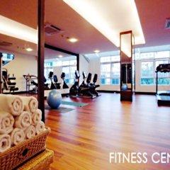 Отель August Suites Pattaya Паттайя фитнесс-зал фото 3