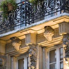 Отель Lenox Montparnasse Hotel Франция, Париж - 1 отзыв об отеле, цены и фото номеров - забронировать отель Lenox Montparnasse Hotel онлайн балкон