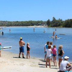 Отель Holiday Haven Burrill Lake Австралия, Сассекс-Инлет - отзывы, цены и фото номеров - забронировать отель Holiday Haven Burrill Lake онлайн пляж фото 2