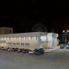 Гостиница Фрегат парковка