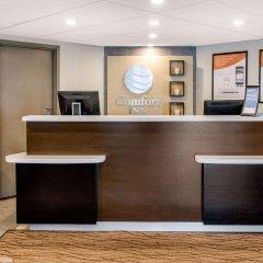 Отель Comfort Inn Montréal Aéroport Канада, Монреаль - отзывы, цены и фото номеров - забронировать отель Comfort Inn Montréal Aéroport онлайн интерьер отеля фото 2