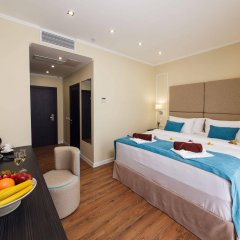 Гостиница Голубая Лагуна в Анапе 13 отзывов об отеле, цены и фото номеров - забронировать гостиницу Голубая Лагуна онлайн Анапа комната для гостей фото 3