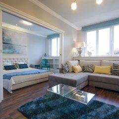 Апартаменты Dom & House - Apartment Turquoise Sopot комната для гостей фото 4