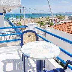 Отель Akrogiali Hotel Греция, Агистри - отзывы, цены и фото номеров - забронировать отель Akrogiali Hotel онлайн балкон