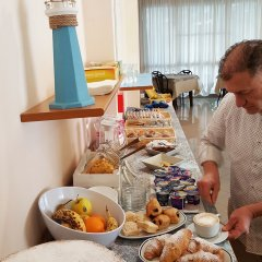 Отель 21 Riccione Италия, Риччоне - отзывы, цены и фото номеров - забронировать отель 21 Riccione онлайн питание фото 3