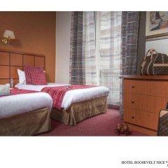 Отель Best Western Hotel Roosevelt Франция, Ницца - отзывы, цены и фото номеров - забронировать отель Best Western Hotel Roosevelt онлайн сейф в номере